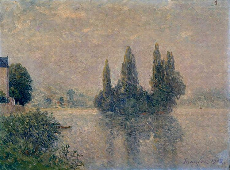 Fog on the Seine (The Andelys), 1902 - Maxime Maufra