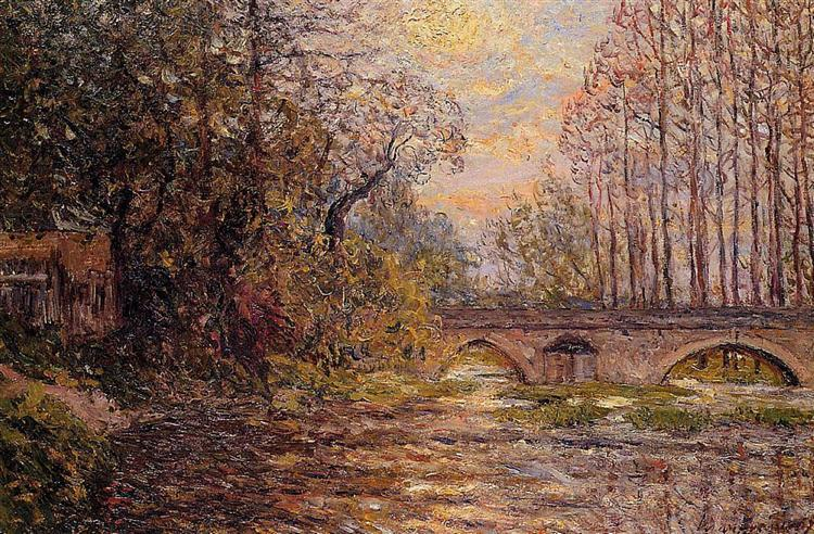 Sunset on the Loire, 1907 - Maxime Maufra