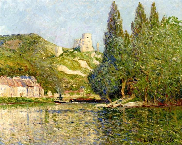 The castle Gaillard, 1903 - Maxime Maufra