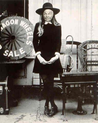 Ridiculous Portrait (Wagon Wheels), 1972 - May Wilson