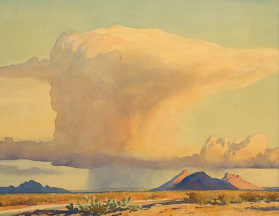 Drought and Downpour, 1944 - Maynard Dixon