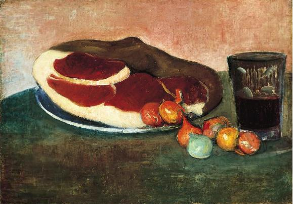 Still Life with Ham, 1889 - Meyer de Haan