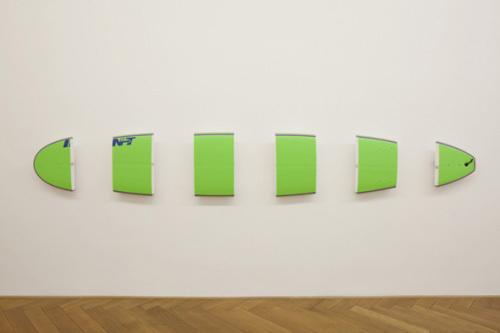 INT (green), 2010 - Michael Krebber
