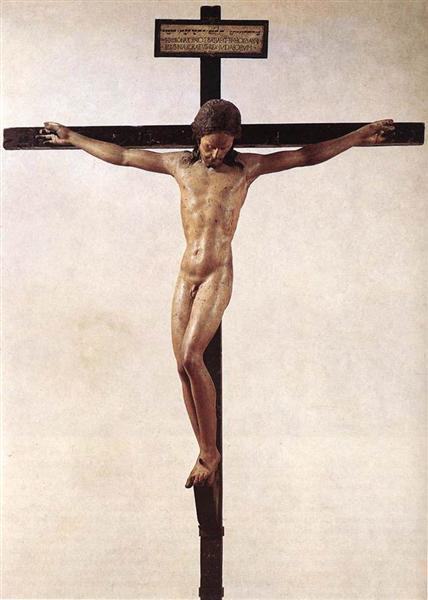 Crucifixion, 1492 - Michelangelo