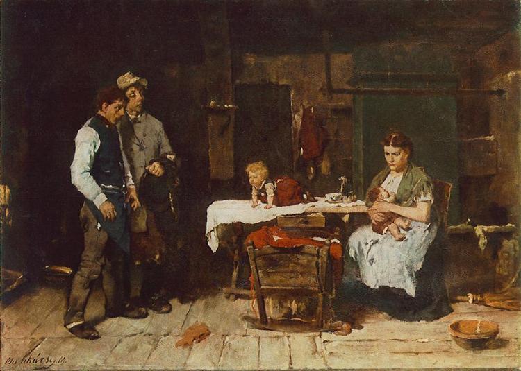 Biboulous Husband, 1873 - Mihaly Munkacsy