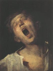 Yawning Apprentice - Mihály Munkácsy