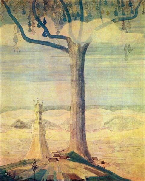 Andante (Sonata of the Summer), 1908 - Mikalojus Konstantinas Čiurlionis