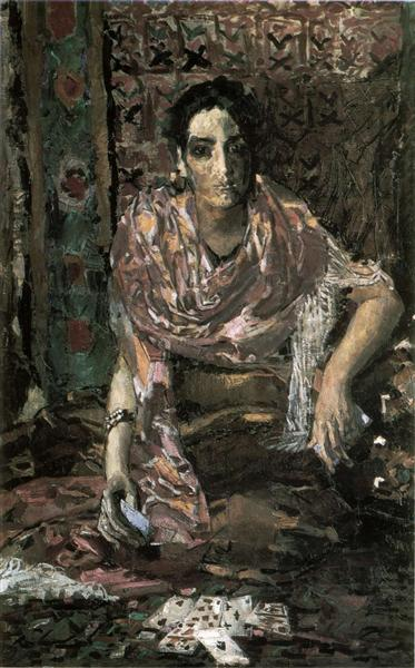 The Fortune Teller, 1895 - Mikhail Vrubel