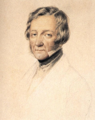 Portrait of William Tierney Clark - Miklós Barabás