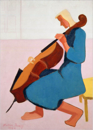 Cello Player, 1944 - Milton Avery