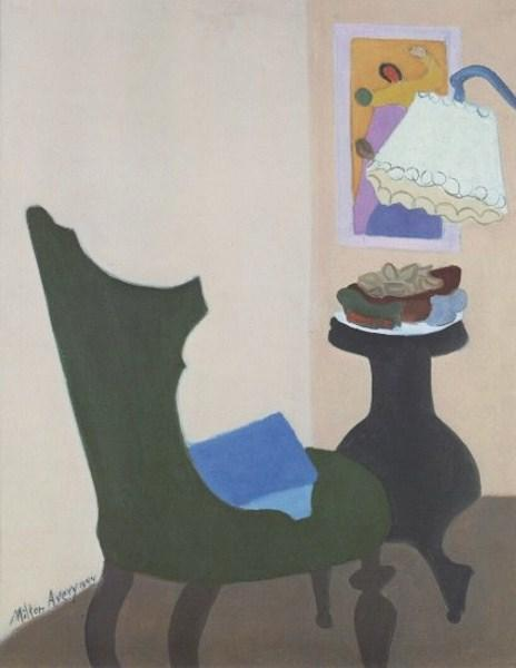 Green Chair, 1944 - Milton Avery