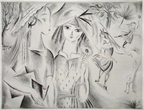 La Récréation, 1930 - Mily Possoz