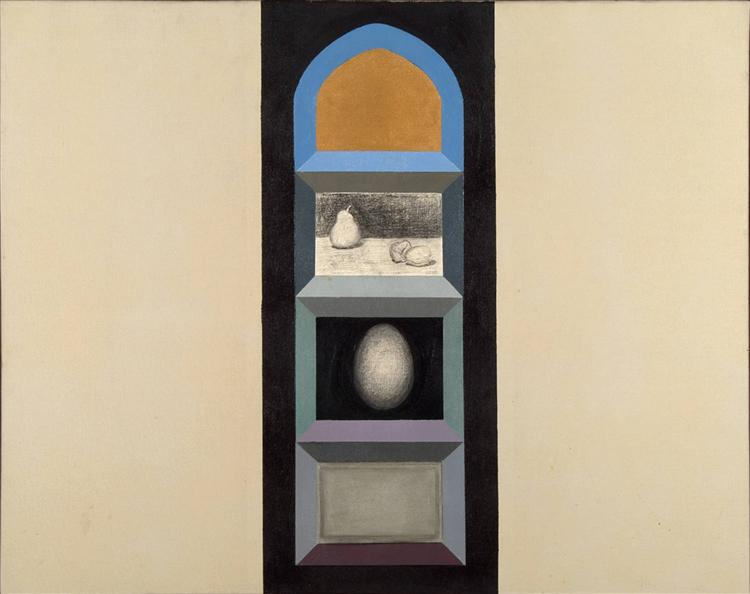 Shrine (for R.K.) II, 1963 - Miriam Schapiro