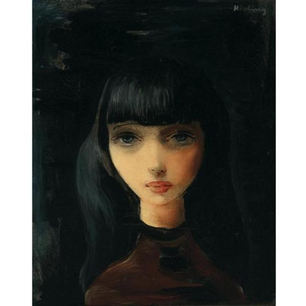 Female portrait - Moise Kisling