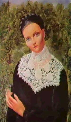 Portrait of Madeleine Sologne, 1936 - Moise Kisling