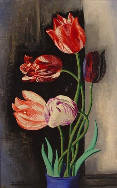 Tulips - Moise Kisling