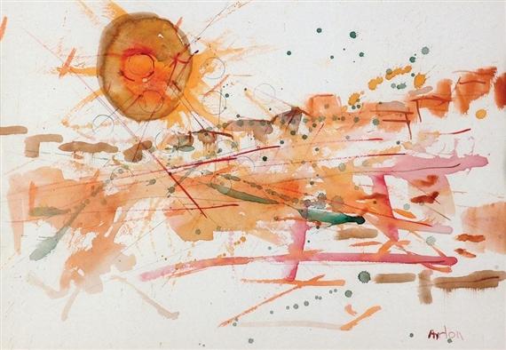 Composition with the Sun - Mordecai Ardon