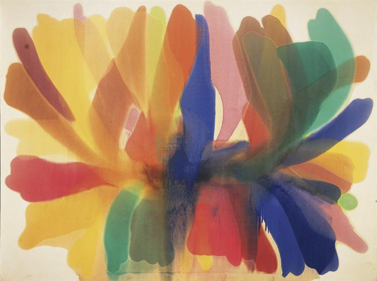 Point of Tranquility, 1959 - 1960 - Morris Louis