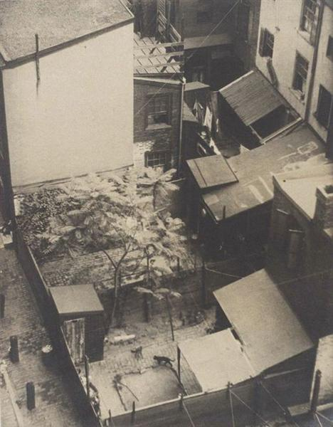 Rooftops, 1916 - Morton Schamberg