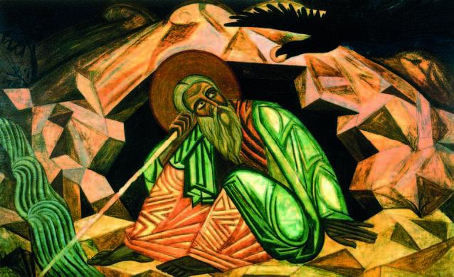 Пророк Ілля, 1913 - Михайло Бойчук