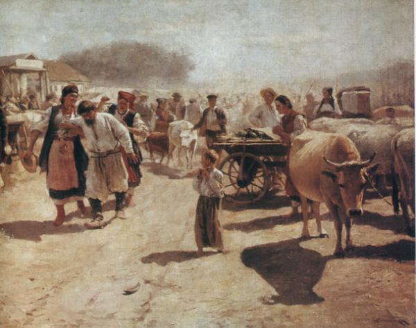 Fair - Mykola Pymonenko