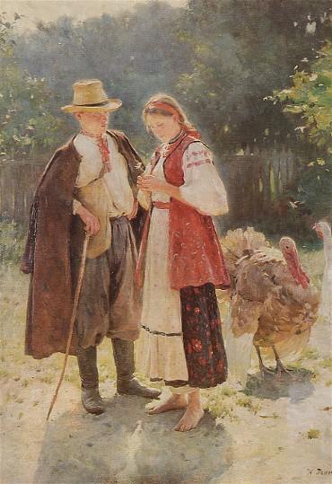 Idyll, 1908 - Mykola Pymonenko