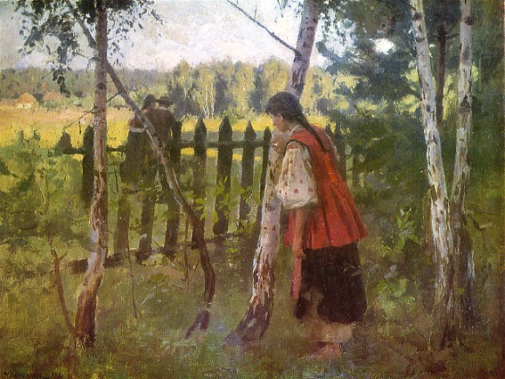 Jealousy, 1901 - Mykola Pymonenko
