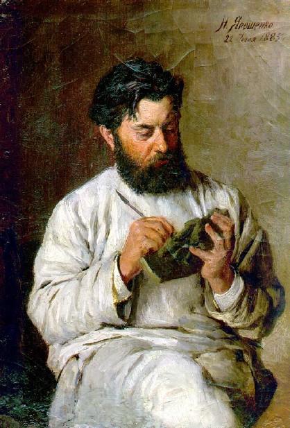 Artistes ukrainiens Portrait-of-the-sculptor-l-v-posen-1885