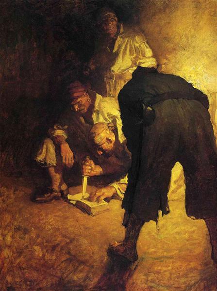 Black Spot - N.C. Wyeth