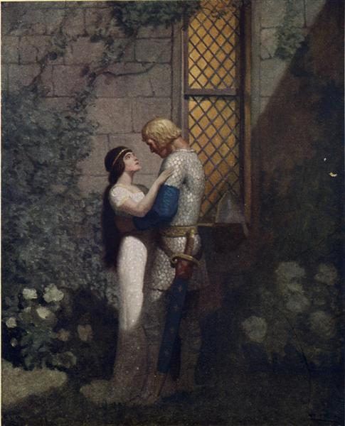 Tristram and Isolde - N.C. Wyeth