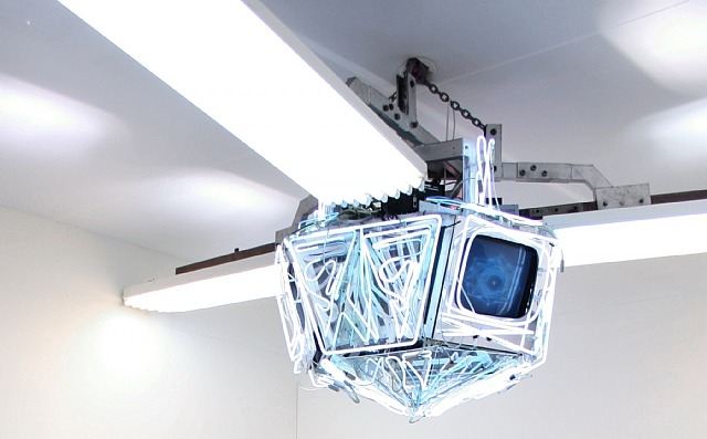 Diamond Sat, 1998 - Nam June Paik
