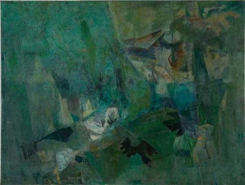 Untitled, 1960 - Nasreen Mohamedi