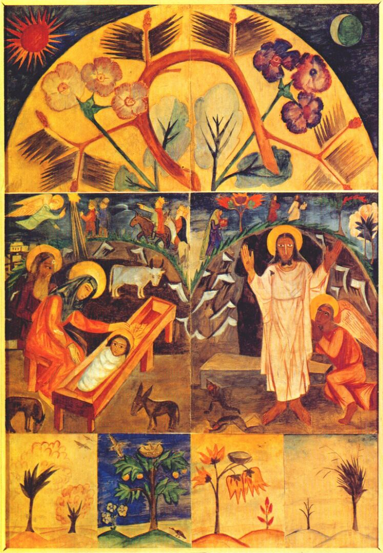 Famous Religious Painting Icon