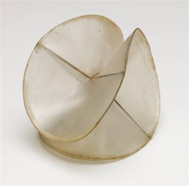 Model for 'Spheric Theme', 1937 - Naum Gabo