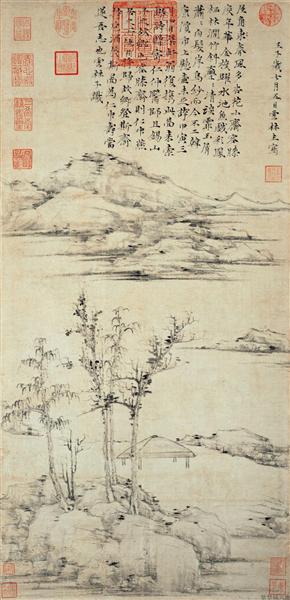 The Rongxi Studio, 1372 - Ni Zan