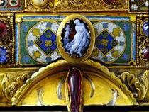 Gem with Dancer, 1st Cent. before Christ - Nicholas of Verdun