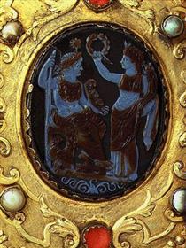 Nero Cameo, 1st C. after Christ - Nicholas of Verdun