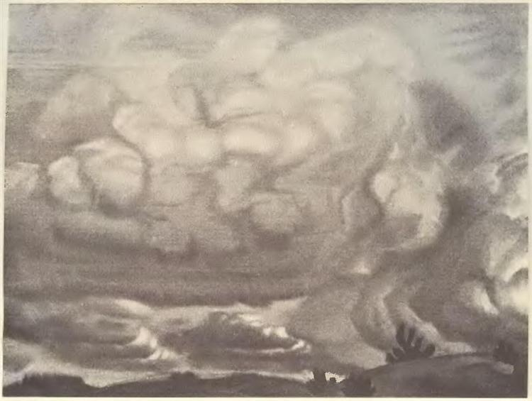 Cloud, 1915 - Nicholas Roerich