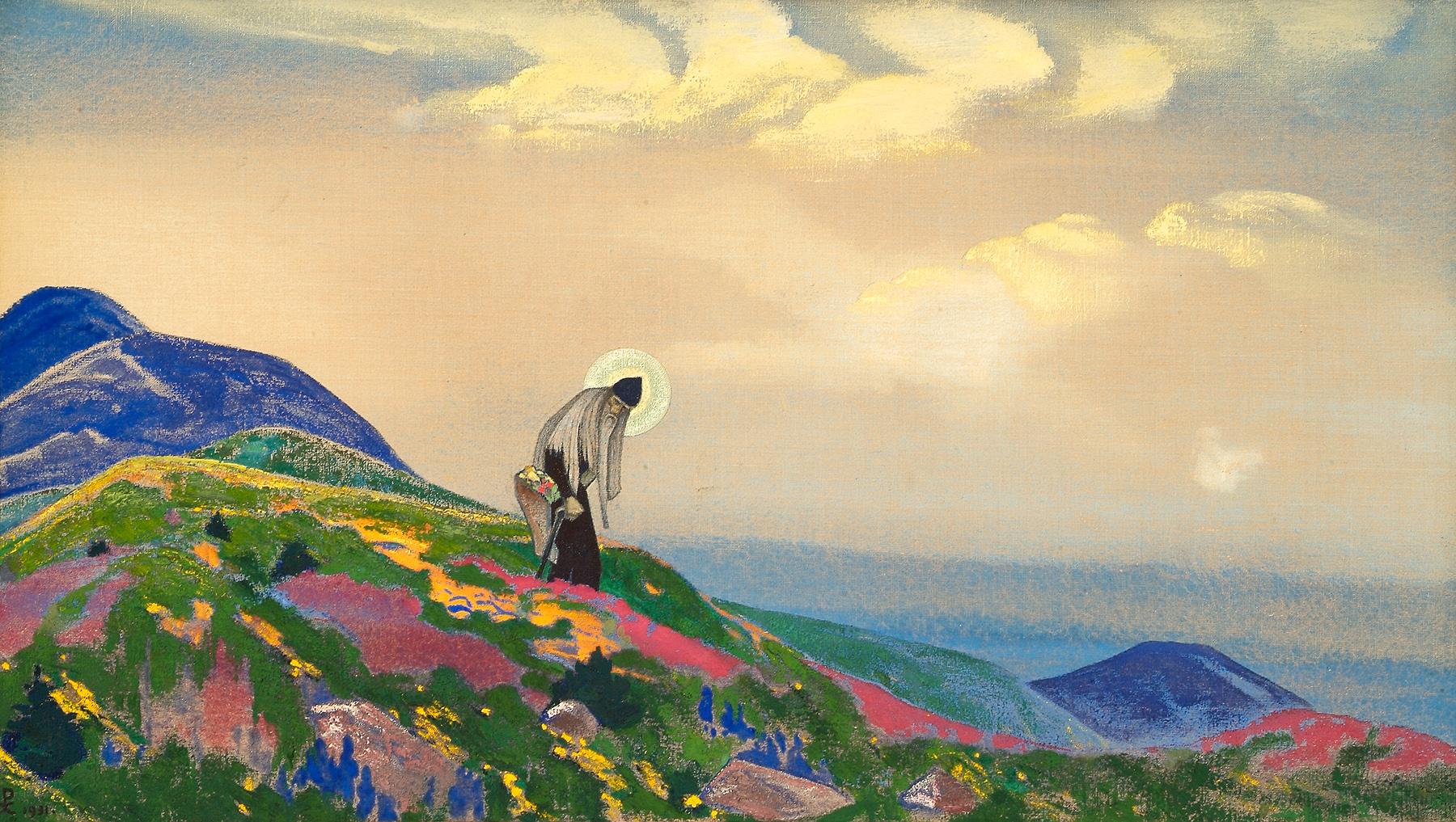 Nicholas Roerich Saint-pantaleon-the-healer-1916
