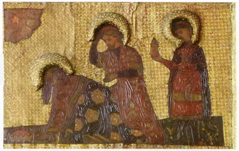 The Virgin Holidays. Adoration of the Magi. Three kings., 1907