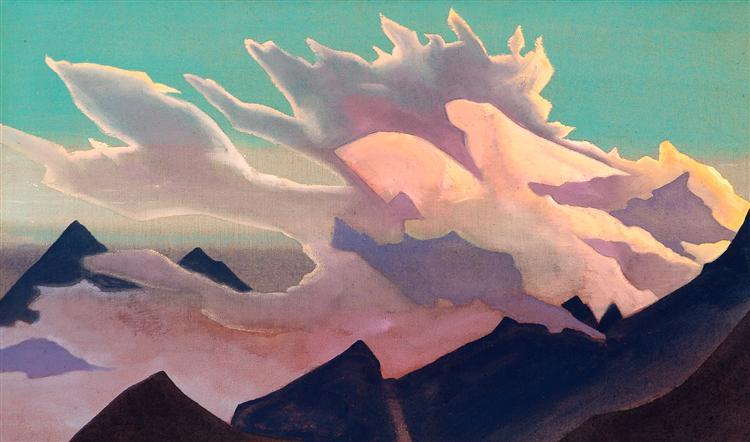 Warrior of Light, 1933 - Nicholas Roerich