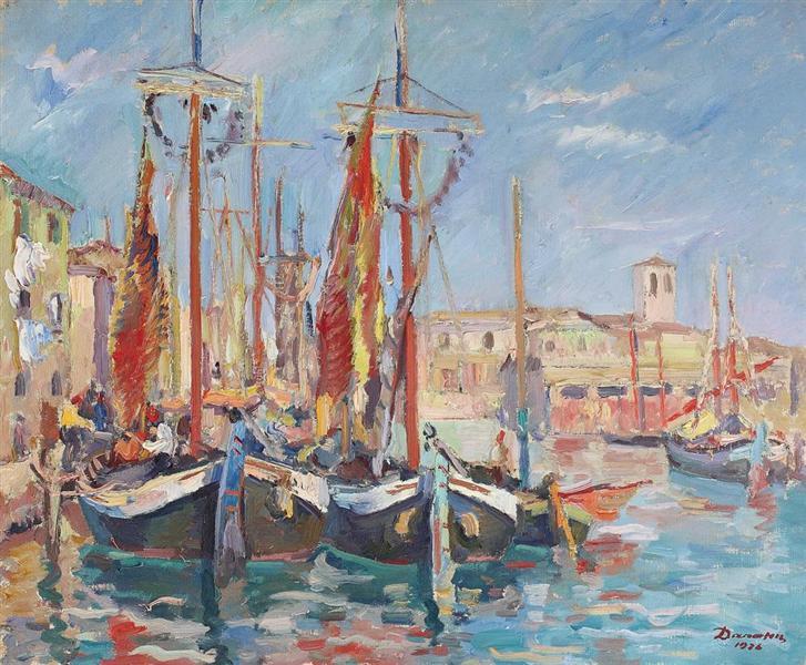 Chioggia, 1926 - Nicolae Darascu