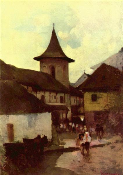 Catholic Church in Cimpulung - Nicolae Grigorescu