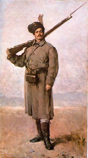Dorobanțul - Nicolae Grigorescu