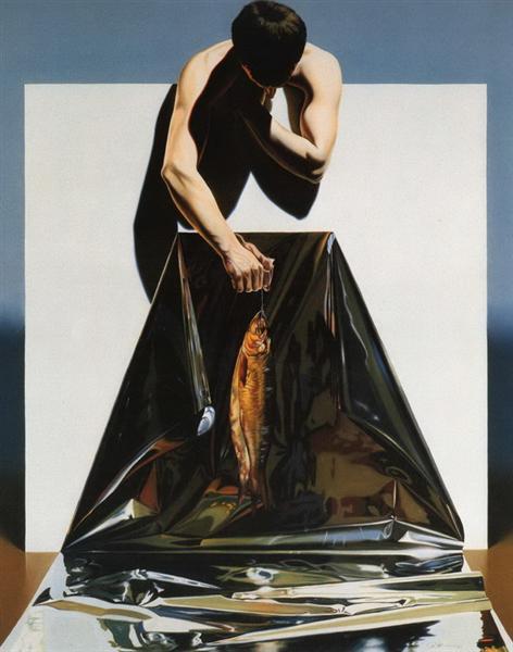 Le pecheur, 1989 - Nicolae Maniu
