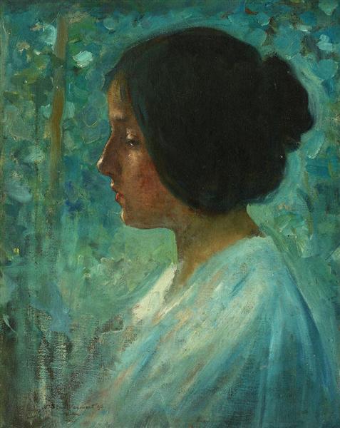 Dreaming, 1896 - Nicolae Vermont