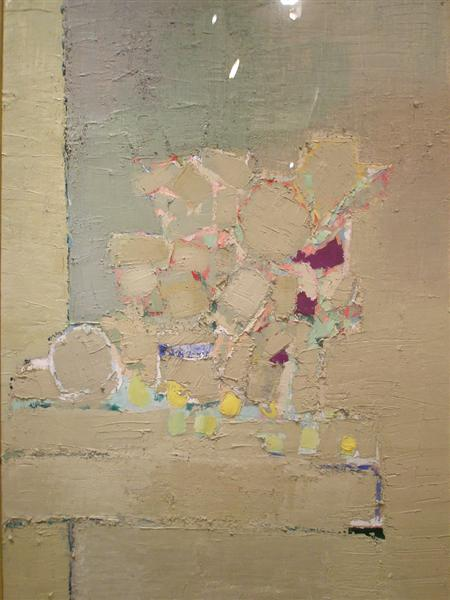 Flowers, 1953 - Nicolas de Staël