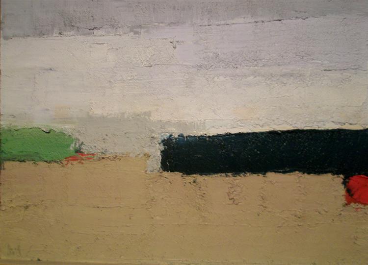 Paysage, 1952 - Nicolas de Staël