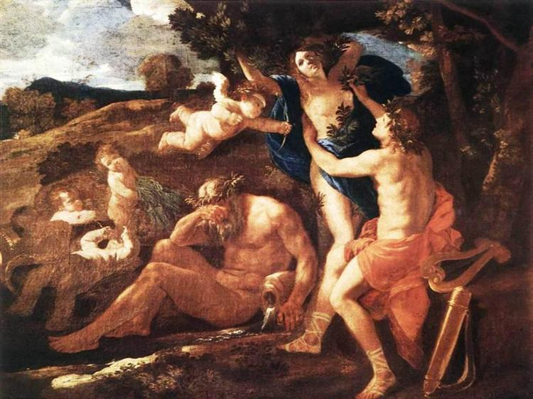 Apollo and Daphne, 1625 - Nicolas Poussin