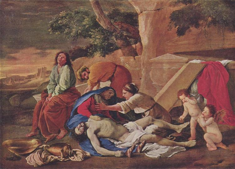 Lamentation over the Body of Christ, 1628 - 1629 - Nicolas Poussin